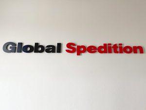 logotipo Global Expeditión PVC 20 mm