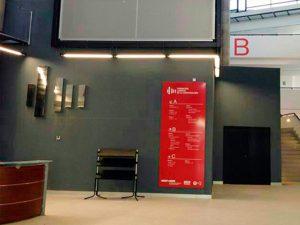 Directorio rótulo Totem-senaletica-universidad-zaragoza