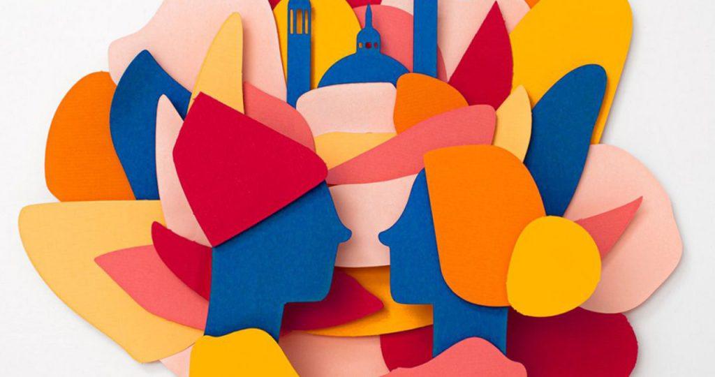 Diseño gráfico - Cartel Fiestas Pilar 2021 - Zaragoza